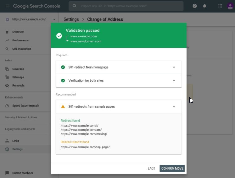 Google Search Console Change of Address Tool Adds Some New Features