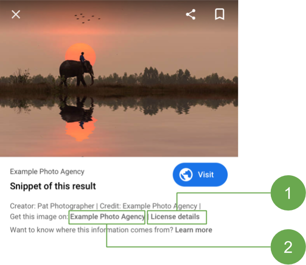 Google Introduces Licensable Badge for Images using Structured Data (BETA)