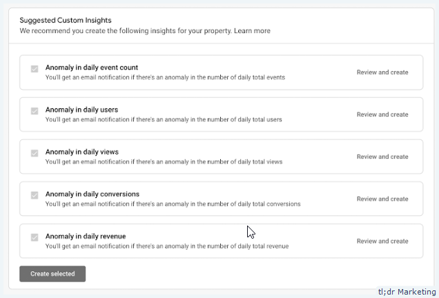 Google Launches Pre-Defined Templates for Creating Custom Insights and Behavior Performance Cards in App + Web Analytics Properties