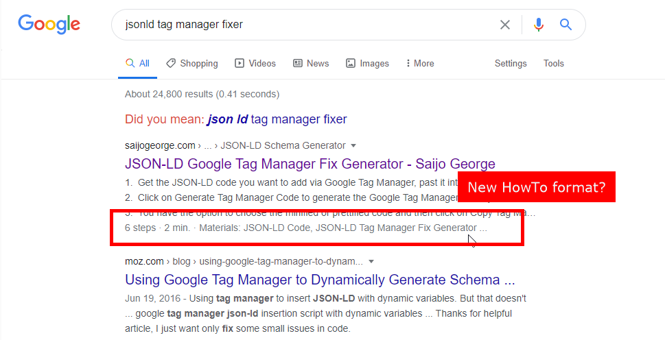 Google Is Testing How-to Rich Results on Desktop Again