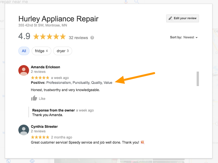 Google Starts to Ask for and Show Positive and Negative Attributes for Business Reviews