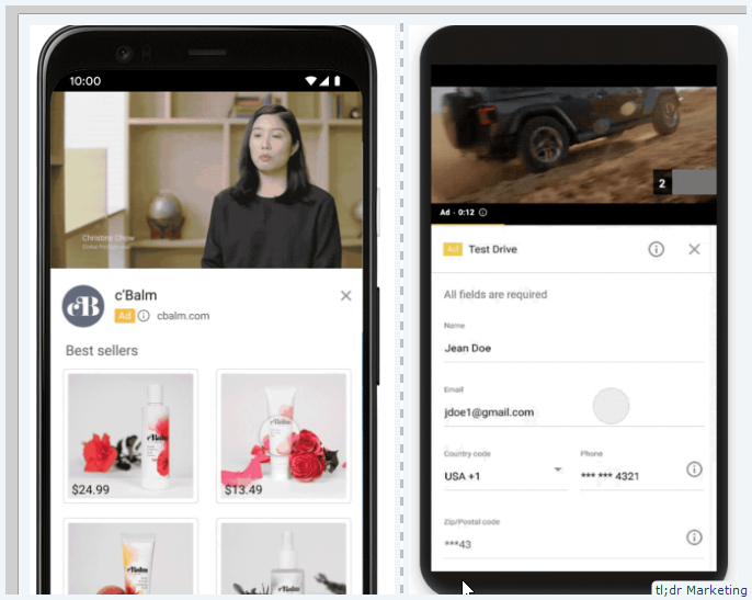 YouTube Will Now Allow You to Add Browsable Product Images Or a Lead-Generation Form Underneath the Video