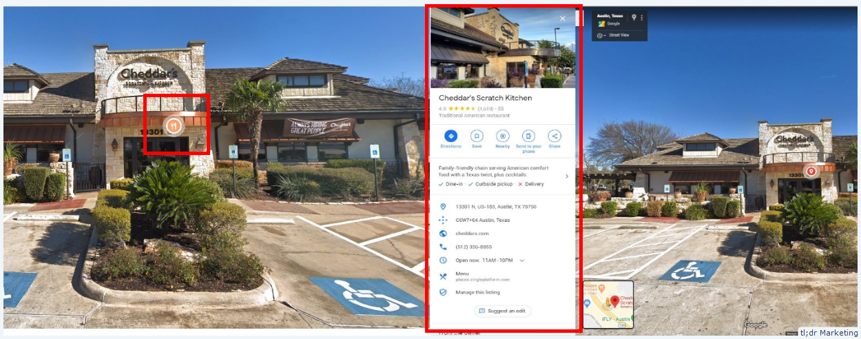 Street View Tests An Icon To Launch Business Knowledge Panel