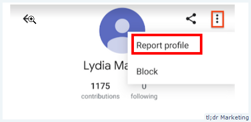 You Can Now Report Google User Profiles for Abuse on Google Maps App