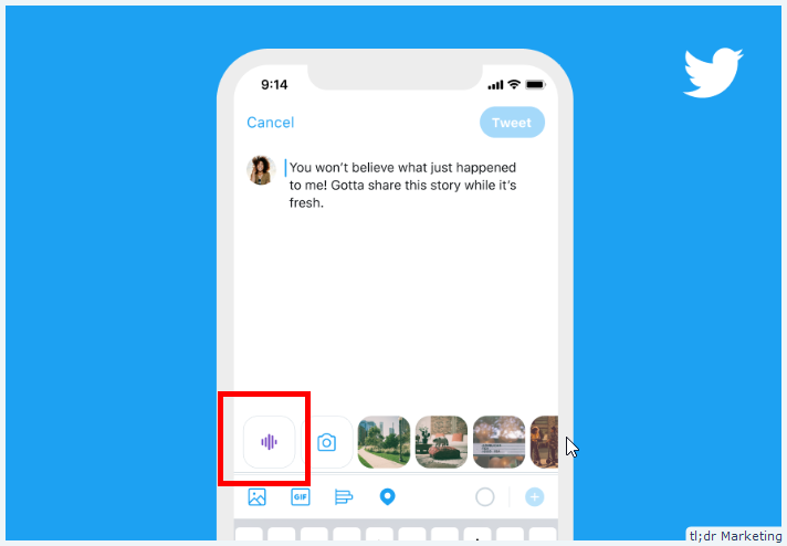 Twitter Is Rolling out Audio Tweets on iOS for Some Users