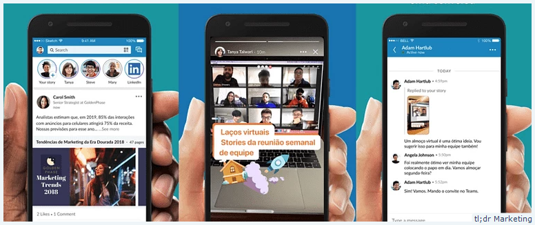 LinkedIn launches Stories feature in Australia
