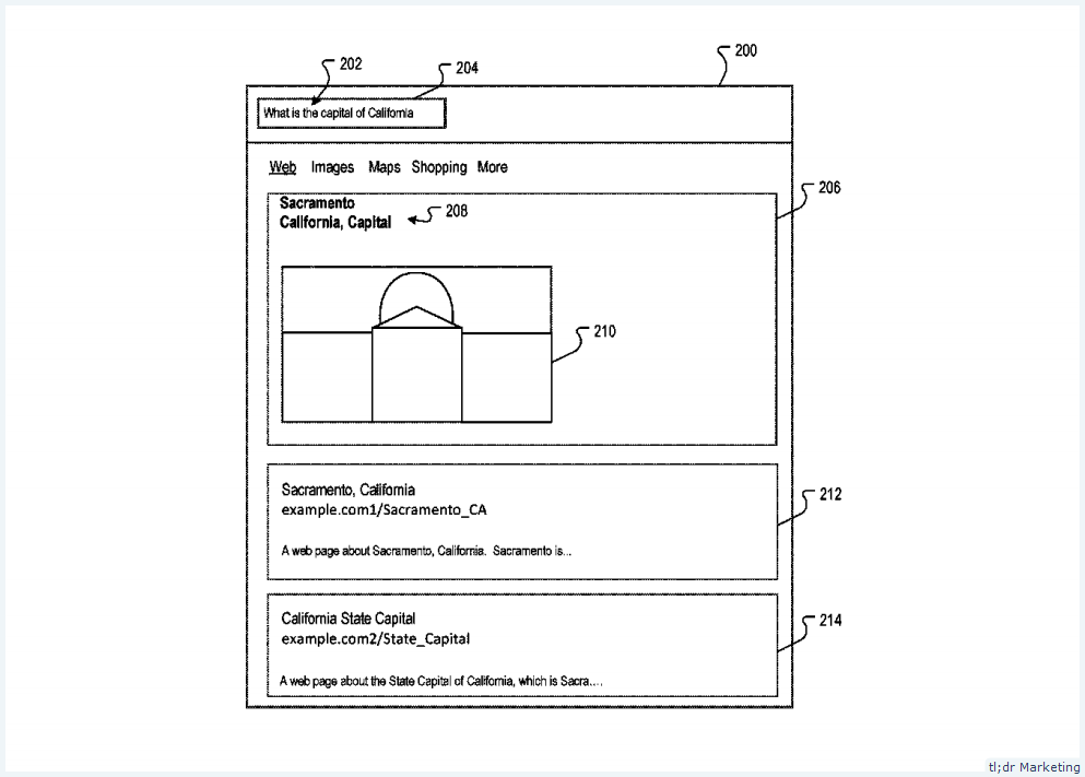 Patent: Query Images May Be Selected from the Same Source That a Query Answer May Be Extracted from Under a New Patent from Google