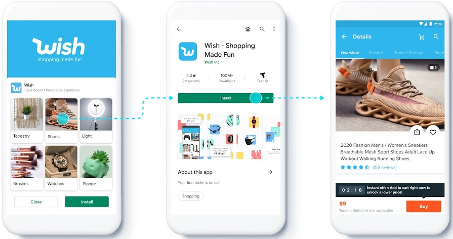 Google to Roll-out Feeds in App Campaigns and Deep Linking from YouTube Ads