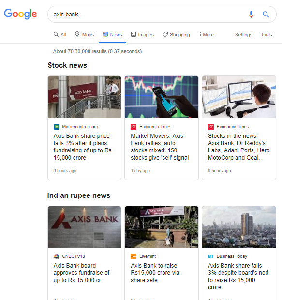 Google News Tests a New Design With Carousels for Multiple Topics