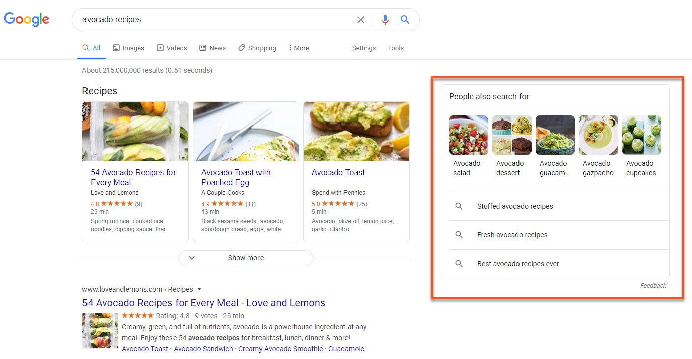 Google Is Testing People Also Search For on the Right in Desktop SERPs
