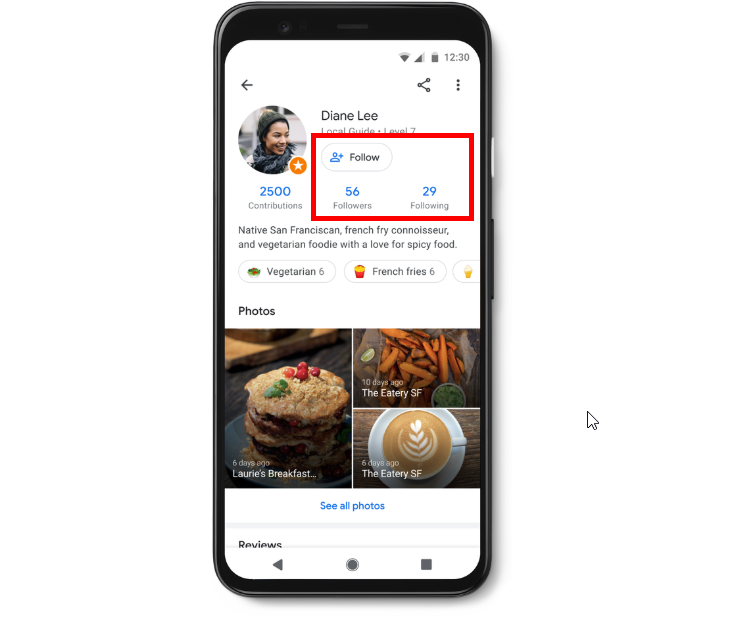 Google Turns On Follow Feature for All Local Guides on Google Maps
