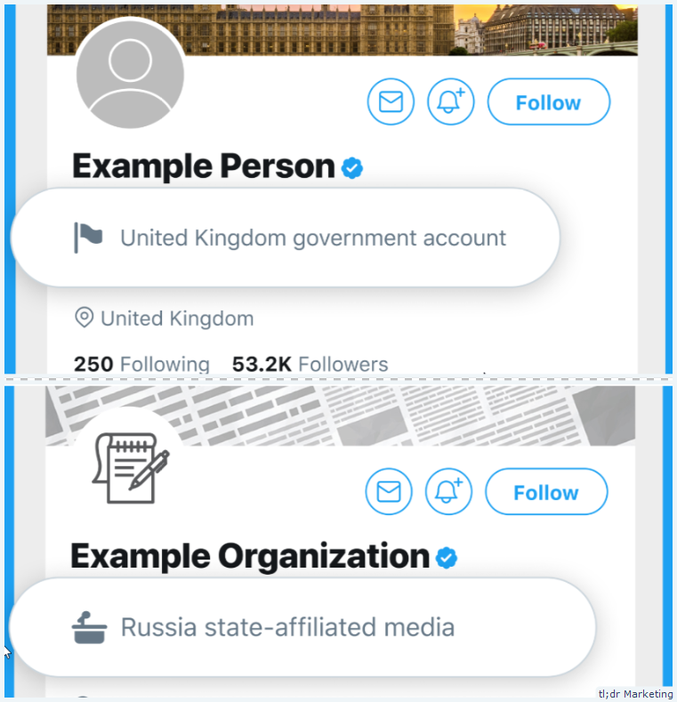Twitter Will Start Showing Labels for Government and State-Affiliated Media Accounts