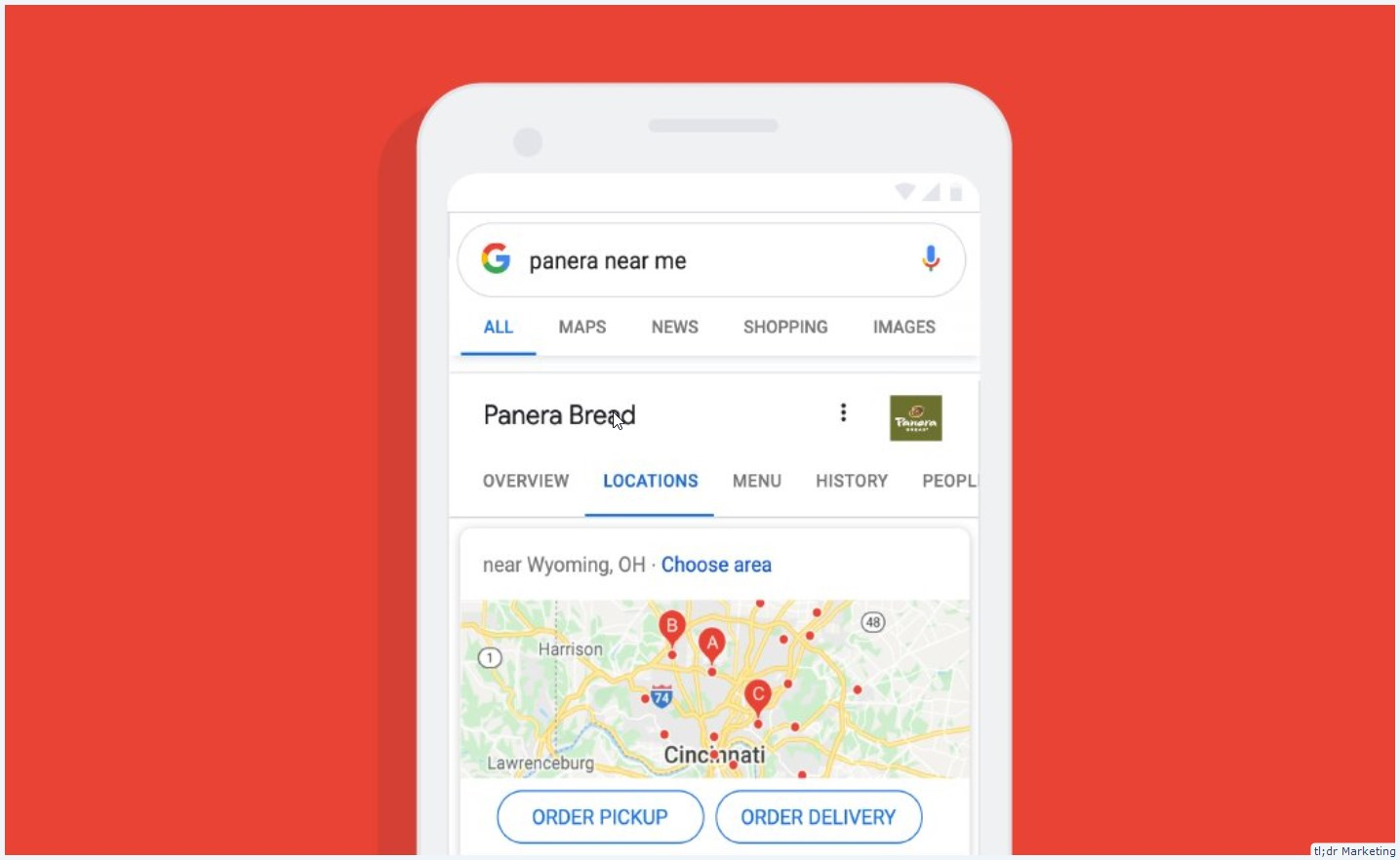 Panera's Off-Premise Delivery and Curbside Capabilities Now Available through Google Search, Maps, and Assistant