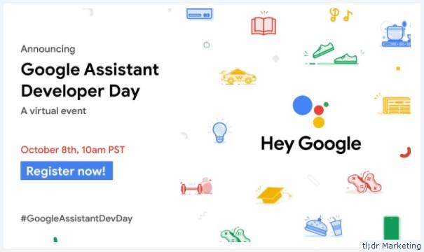 Virtual Google Assistant Developer Day Set for October 8