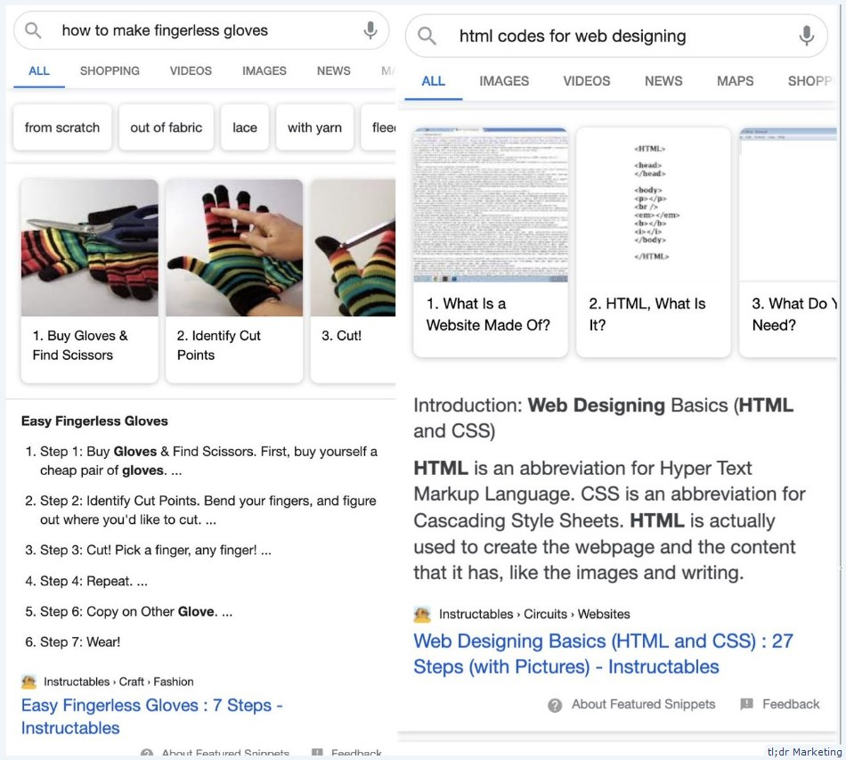 Google Tests Featured Snippet + How-To Schema Hybrid on Mobile SERPs