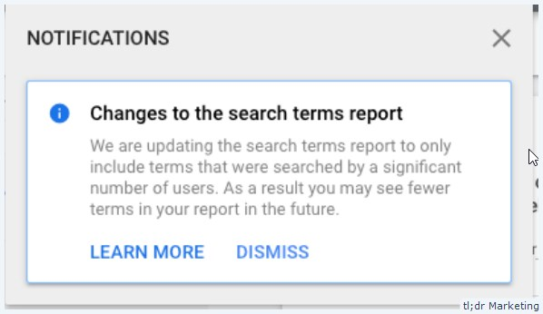 Google Ads Is Reducing the Amount of Data in Search Term Reports