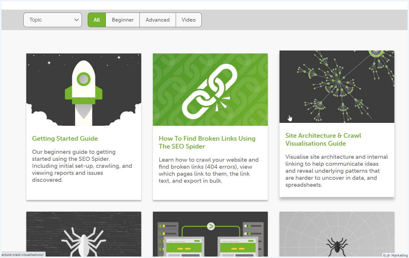 ScreamingFrog Has a Bunch of Tutorials to Help You Level Up Your Audit Game