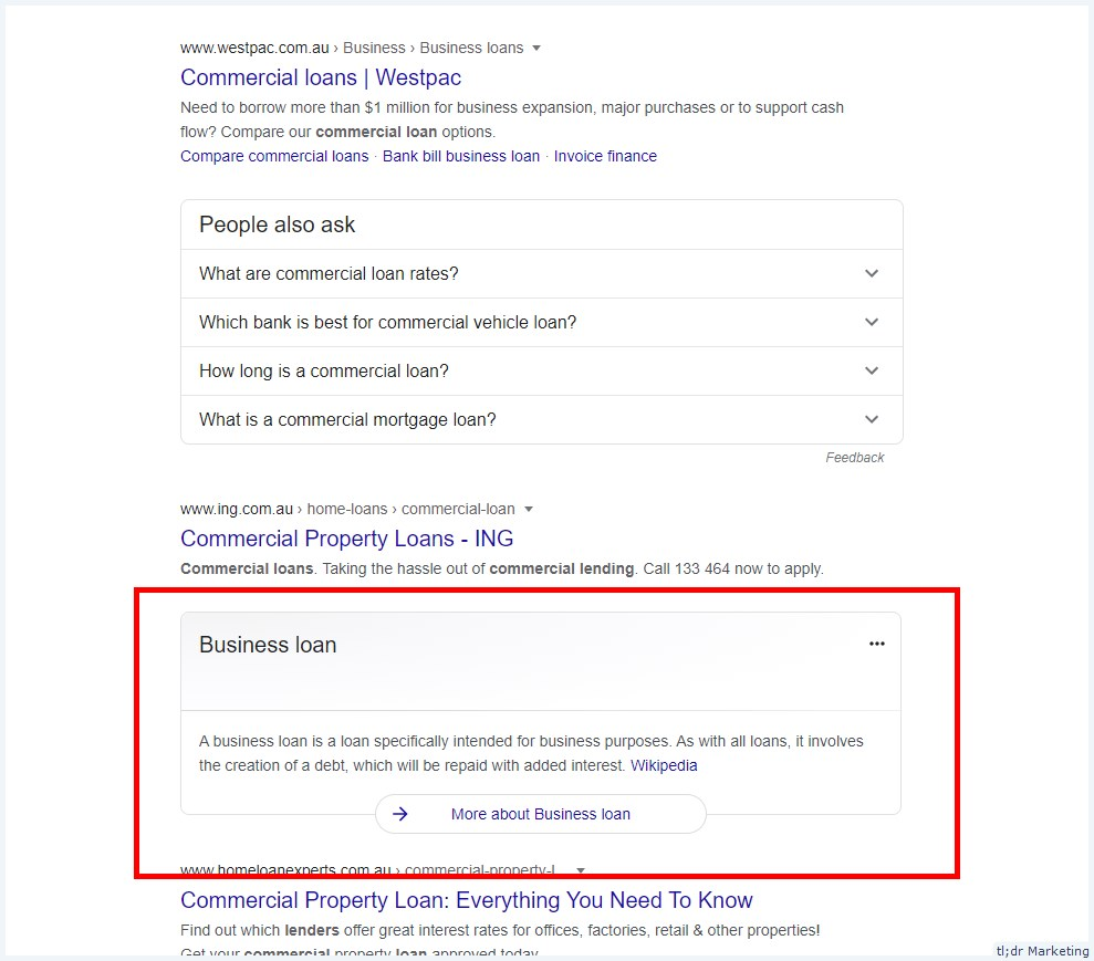 Google Is Testing Knowledge Panel in the Middle of SERPs