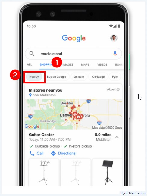 Google Makes It Easier for Customers to Shop Safely from Local Stores with Nearby Filter