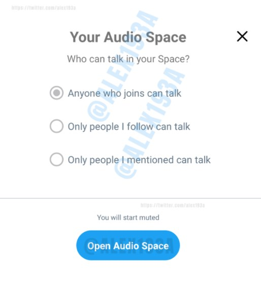 Twitter Working on Audio Space, a Room Where You Can Talk to Anyone