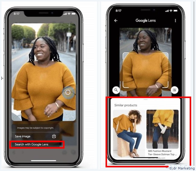 Shop with Google Lens Coming to iOS