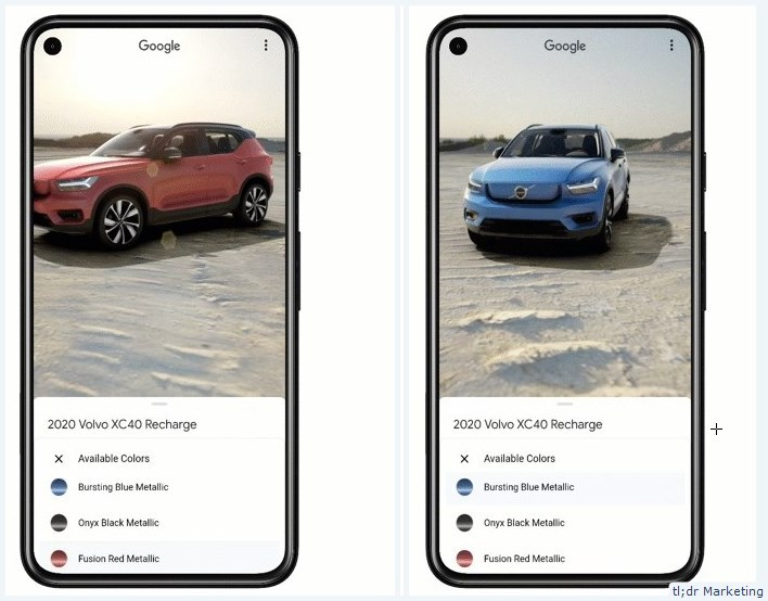 Google Search Will Get 3D Models of New Cars in Google Search (US)
