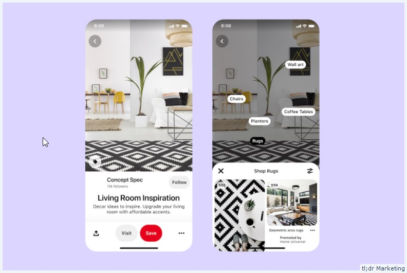 Pinterest Brings Shopping Inspiration to the UK