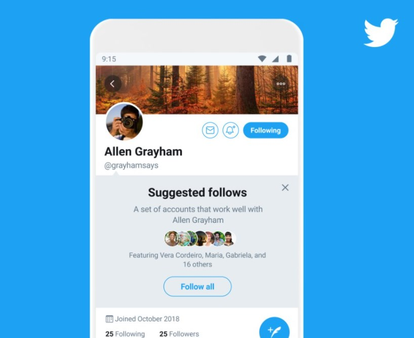 Twitter Tests a New Way to Find Accounts to Follow