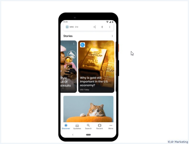 Google Officially Brings Web Stories to Discover in US, India and Brazil