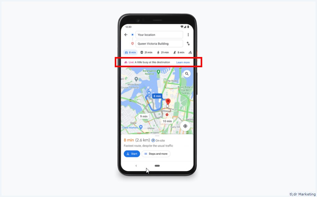 Google Is Expanding Live Business Information in Maps and Auto Updating Opening Hours using Duplex