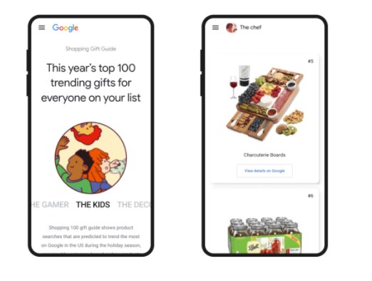 Google Launches a Shopping Gift Guide