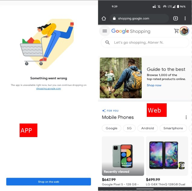 Google Shopping For Android, Ios Shutting Down In Favor Of The Web
