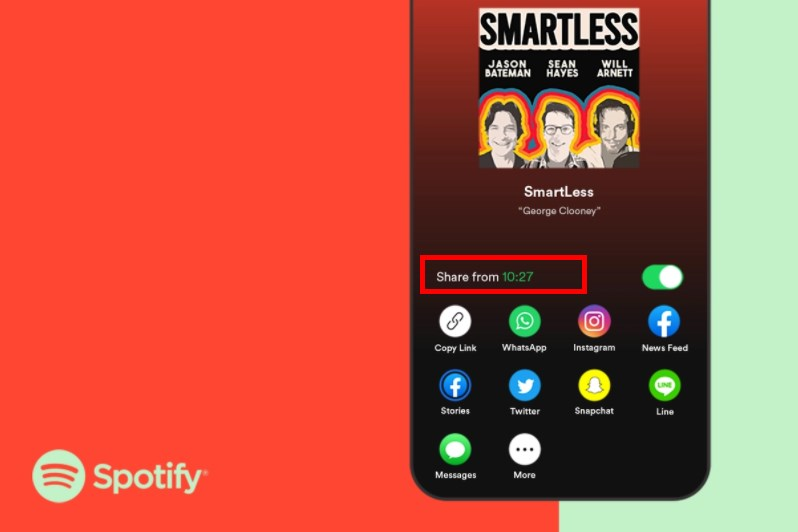 Spotify Adds Timestamped Podcast Sharing And Other Social Features