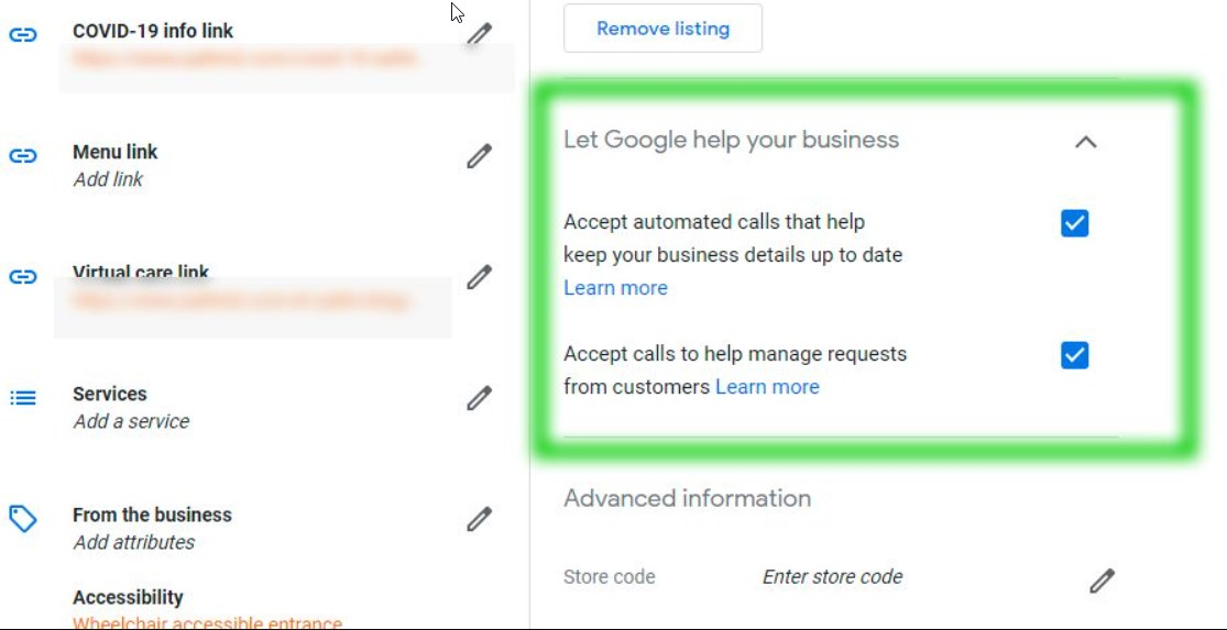 Google Starts Showing Ability for Owners to Accept or Reject Duplex Calls via GMB Dashboard