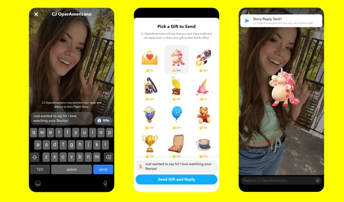 Snapchat Users Will Be Able To Tip Popular Creators Later This Year