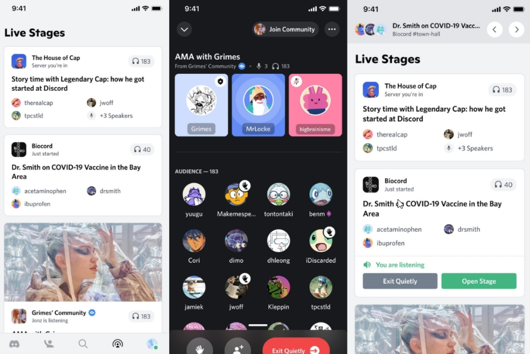 Discord Launches Stage Discovery Portal To Connect Live Audio Events With Communities