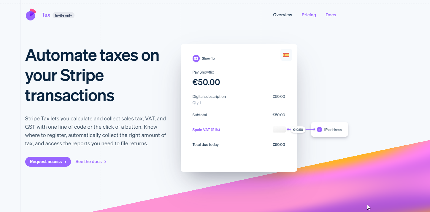 Stripe Launches Stripe Tax To Integrate Sales Tax Calculations For 30+ Countries