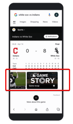 Google Is Rolling Out More Sports Web Stories In Select Countries For UEFA Euro 2020