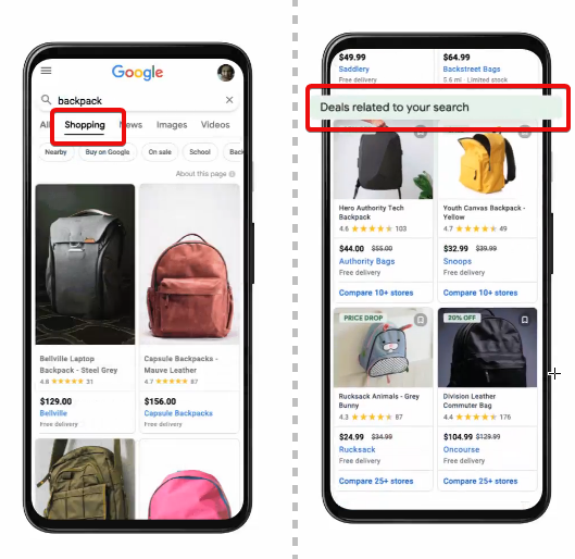 Google Brings Deals to Shopping Tabs (US only) Upload for Free via Merchant Center