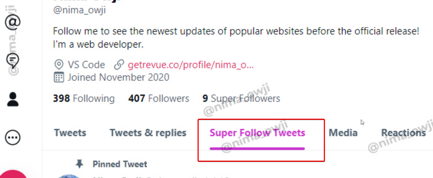 Twitter To Implement New Tab Dedicated To Super Follow Tweets
