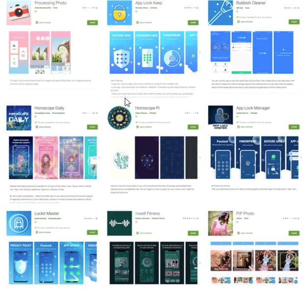 Researchers Uncovered 9 Apps On Google Play With Over 5.8 Million That Stole Users Facebook Passwords