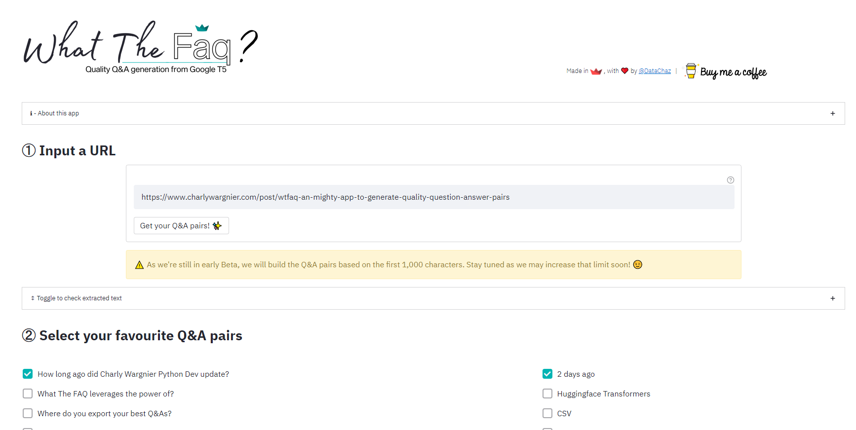 Generate FAQ For Your Pages Automatically With What The FAQ