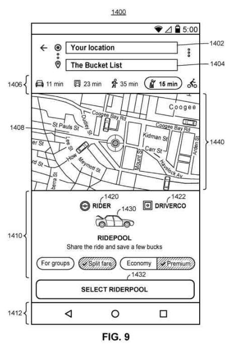 Patent: Navigation and Transit Communication at Google