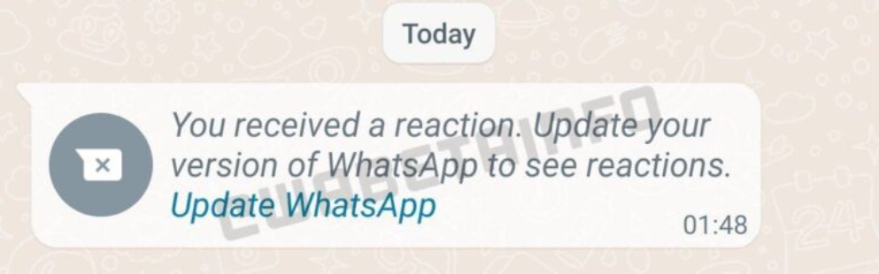 Whatsapp Is Working On Message Reactions