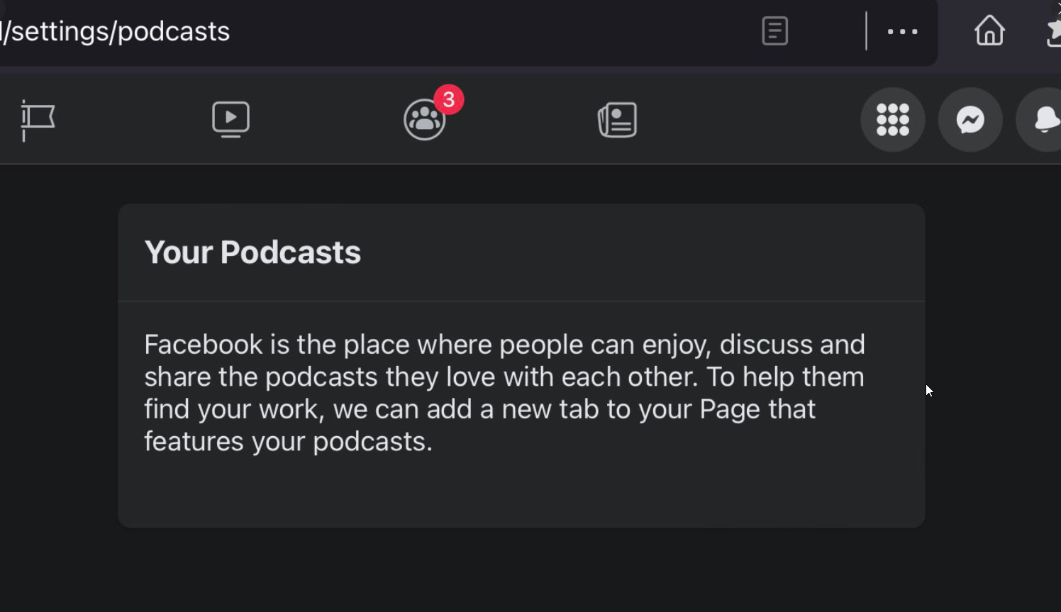 Facebook Podcasts Feature For Pages Rolling Out To More Users