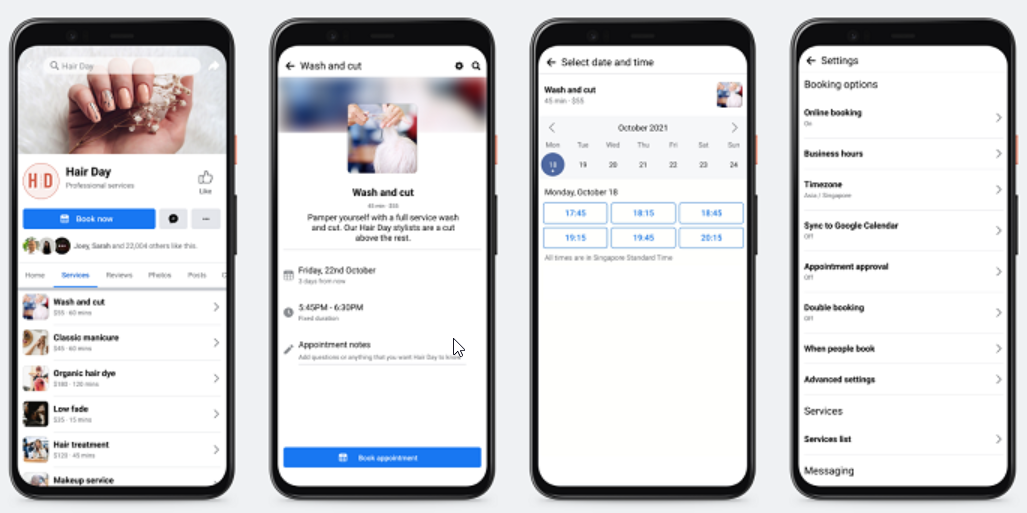 Facebook Announces New Tools for SMBs, Including Video Calls and Expanded Appointment Bookings